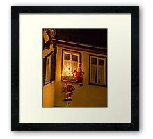 Tübingen at Christmas 4 Framed Print