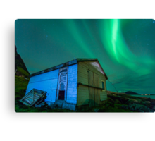 Room With a View - Northern Lights Canvas Print