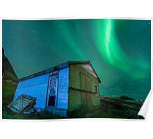 Room With a View - Northern Lights Poster