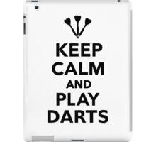 Keep calm and play Darts iPad Case/Skin