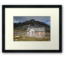 Spitsbergen History - Svalbard Arctic Framed Print
