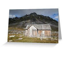 Spitsbergen History - Svalbard Arctic Greeting Card