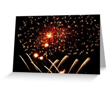 Exploding Sky Greeting Card