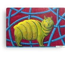 404 - MICHELIN MANX - DAVE EDWARDS - COLOURED PENCILS - 2014 Canvas Print