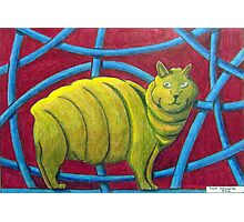 404 - MICHELIN MANX - DAVE EDWARDS - COLOURED PENCILS - 2014 Photographic Print
