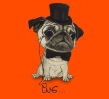 Pug; Gentle Pug (v3) Kids Tee
