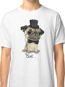 Pug; Gentle Pug (v3) Classic T-Shirt