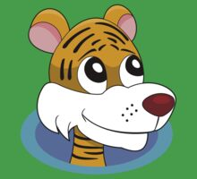 Cartoon tiger Kids Clothes