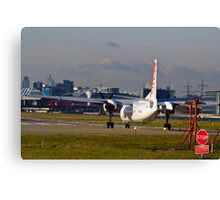 Waiting for Take-off  Canvas Print