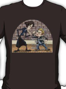 Sherlock analyzes Watson T-Shirt