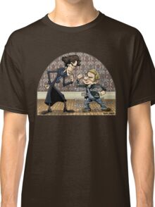 Sherlock analyzes Watson Classic T-Shirt