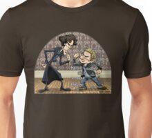 Sherlock analyzes Watson Unisex T-Shirt
