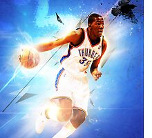Kevin Durant Oklahoma City Thunder OKC NBA Case by Givens87