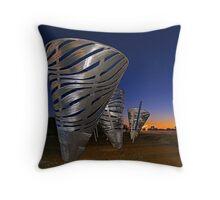 Water Dance Sculptures  Throw Pillow