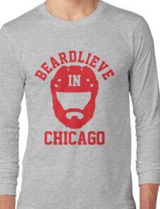Beardlieve In Chicago Long Sleeve T-Shirt