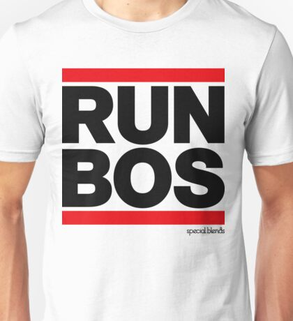 Run Boston BOS (v1) Unisex T-Shirt