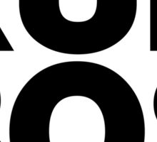 Run Boston BOS (v1) Sticker