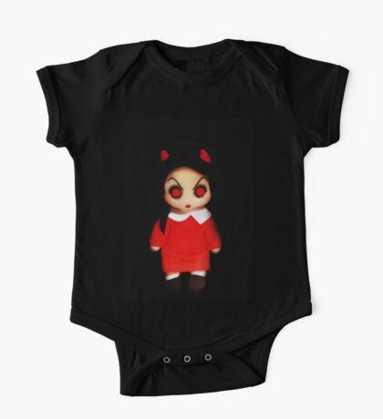Sinderella the Cute Devilish Dark Gothic Doll  One Piece - Short Sleeve