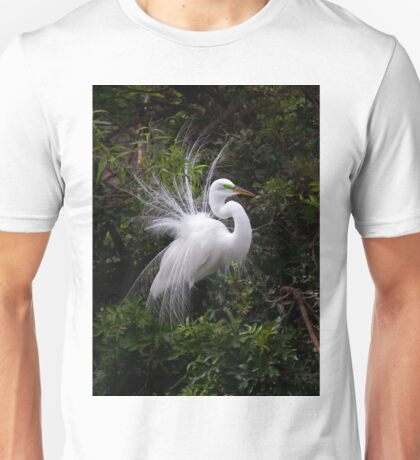On Display - Great Egret T-Shirt