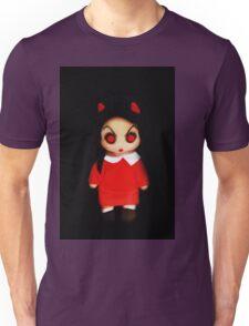 Sinderella the Cute Devilish Dark Gothic Doll  Unisex T-Shirt