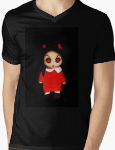 Sinderella the Cute Devilish Dark Gothic Doll  Mens V-Neck T-Shirt