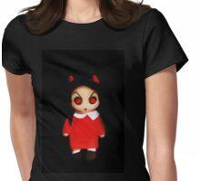 Sinderella the Cute Devilish Dark Gothic Doll  Womens Fitted T-Shirt