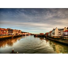 River Esk, Whitby Photographic Print