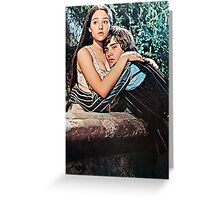 Romeo and Juliet 1968 Greeting Card