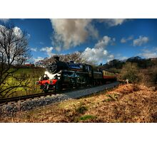 Approaching Grosmont Photographic Print