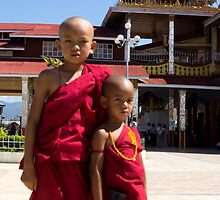 monks by Anne Scantlebury