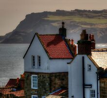 Robin Hoods Bay by English Landscape Prints