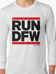 Run Dallas-Ft. Worth DFW (v1) Long Sleeve T-Shirt