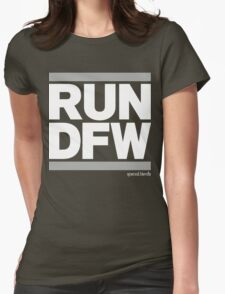 Run Dallas-Ft. Worth DFW (v2) Womens Fitted T-Shirt
