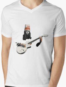 Buckethead Mens V-Neck T-Shirt