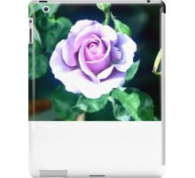 STERLING SILVER ROSE  iPad Case/Skin