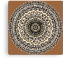 Bygone Love Mandala  Canvas Print