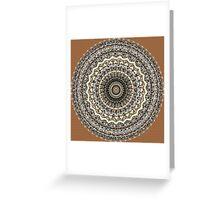 Bygone Love Mandala  Greeting Card