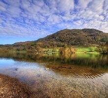 Rydal Water by English Landscape Prints