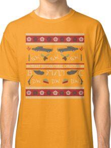 Merry Supernatural Christmas Classic T-Shirt