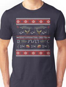 Merry Supernatural Christmas Unisex T-Shirt