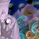 Om Mani Padme Hum Buddha by Desirée Glanville