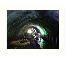 Newbold Tunnel   -  Northern Oxford Canal.........! Art Print