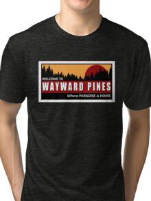 Welcome to Wayward Pines Tri-blend T-Shirt