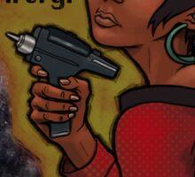 Uhura Sticker