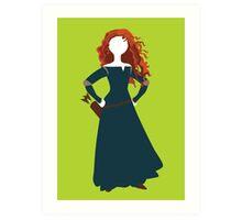 Princess Merida from Brave Disney Art Print
