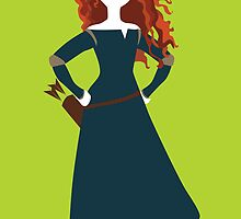 Princess Merida from Brave Disney by awiec