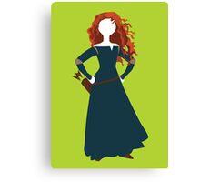 Princess Merida from Brave Disney Canvas Print