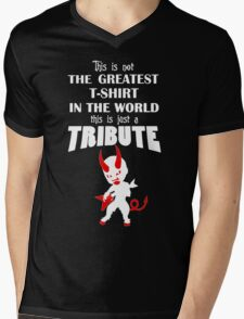 The Greatest T-Shirt In The World... TRIBUTE Mens V-Neck T-Shirt