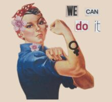 "Rosie the Riveter ""We Can Do It"" by vompires"