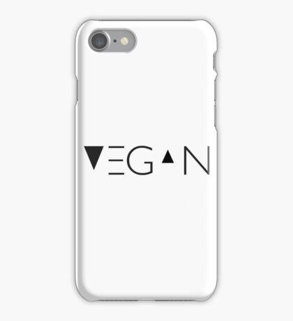 vegan me iPhone Case/Skin